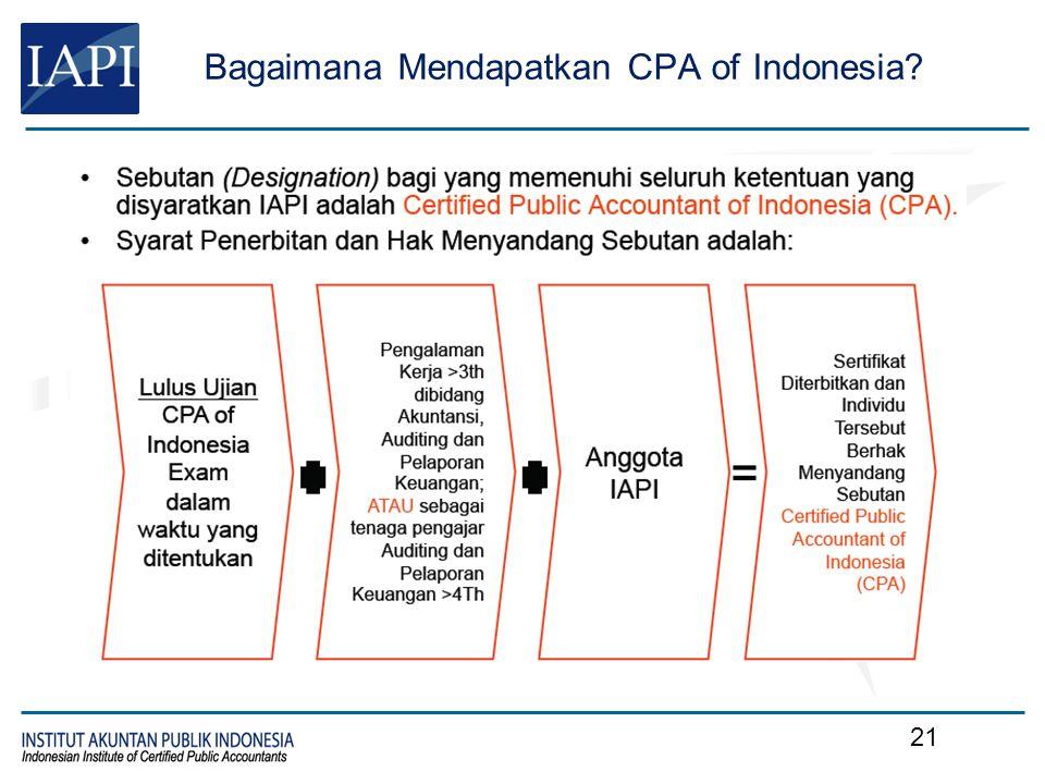 Ujian CPA Komputerisasi, melalui Prometric Diselenggarakan IAPI