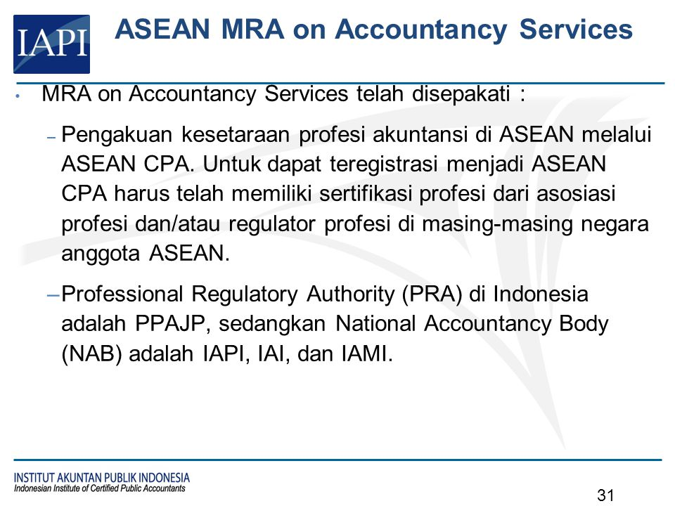 Profesional Accountants ACPA Coordinating Committee