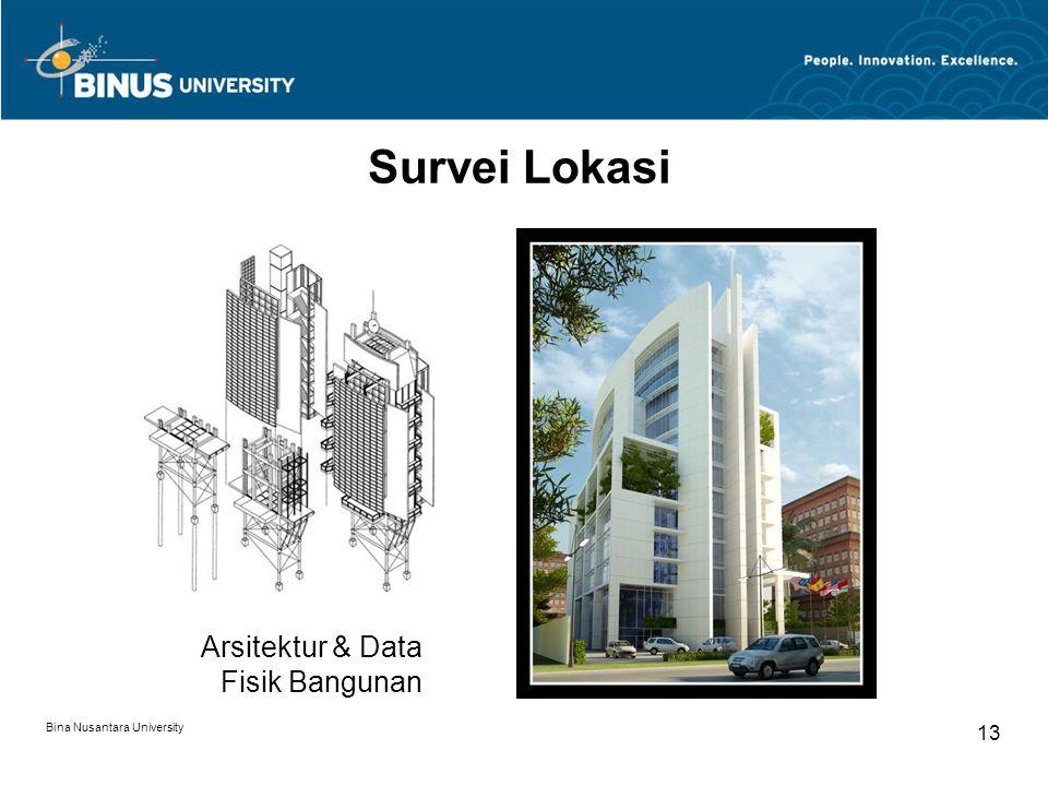 Survei Lokasi Arsitektur & Data Fisik Bangunan 13