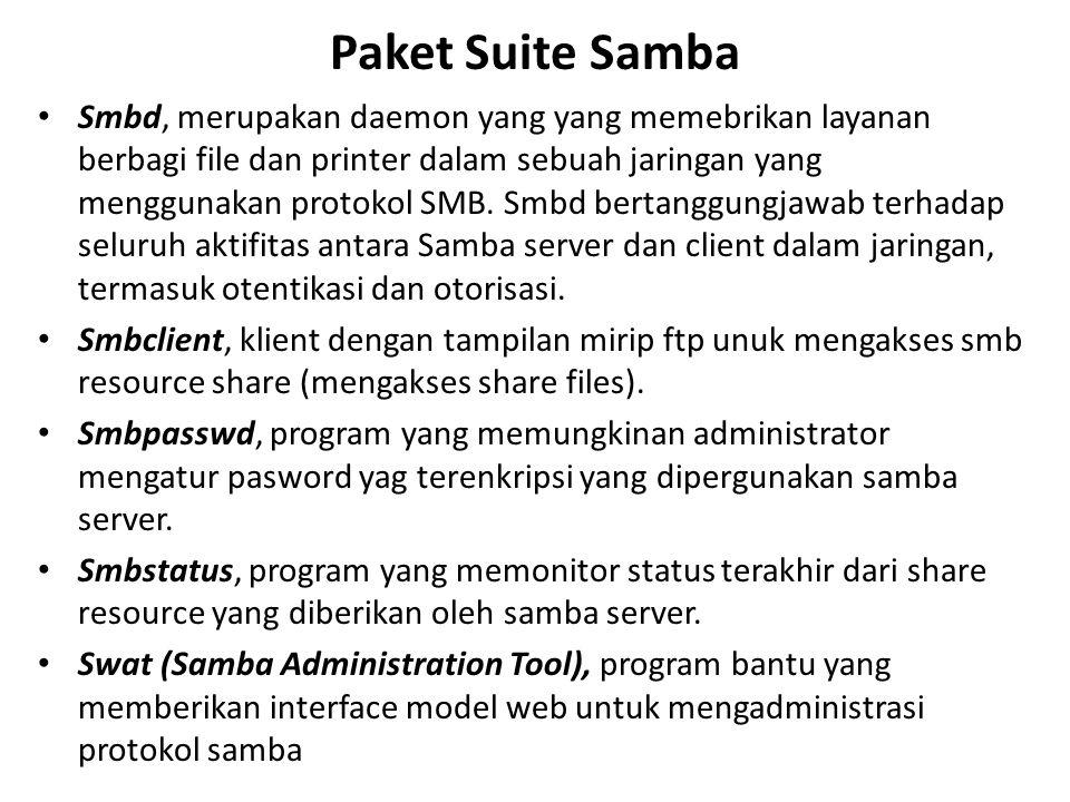 Paket Suite Samba