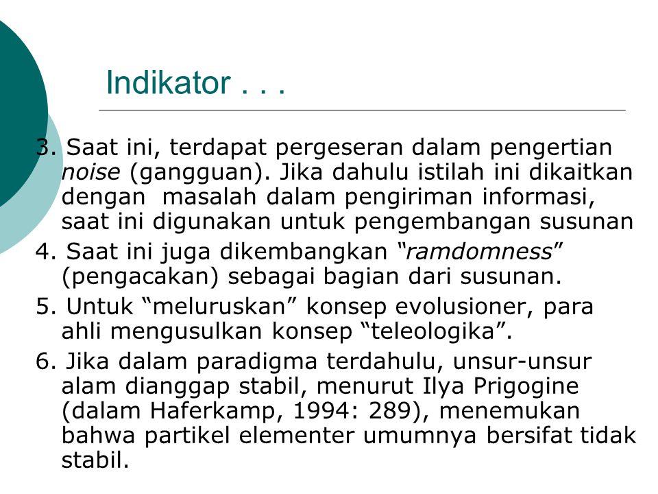 Indikator . . .
