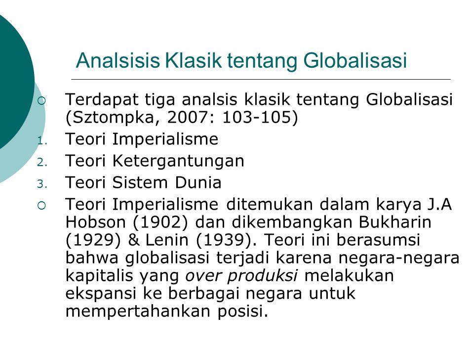 Analsisis Klasik tentang Globalisasi