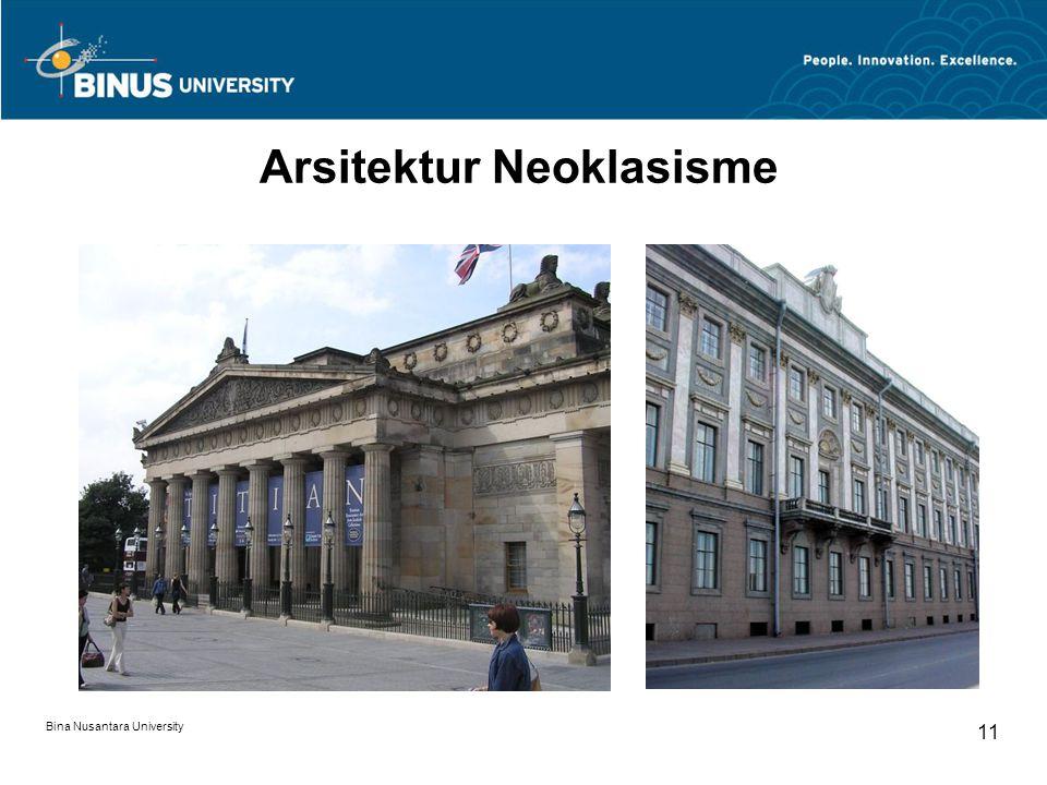Arsitektur Neoklasisme