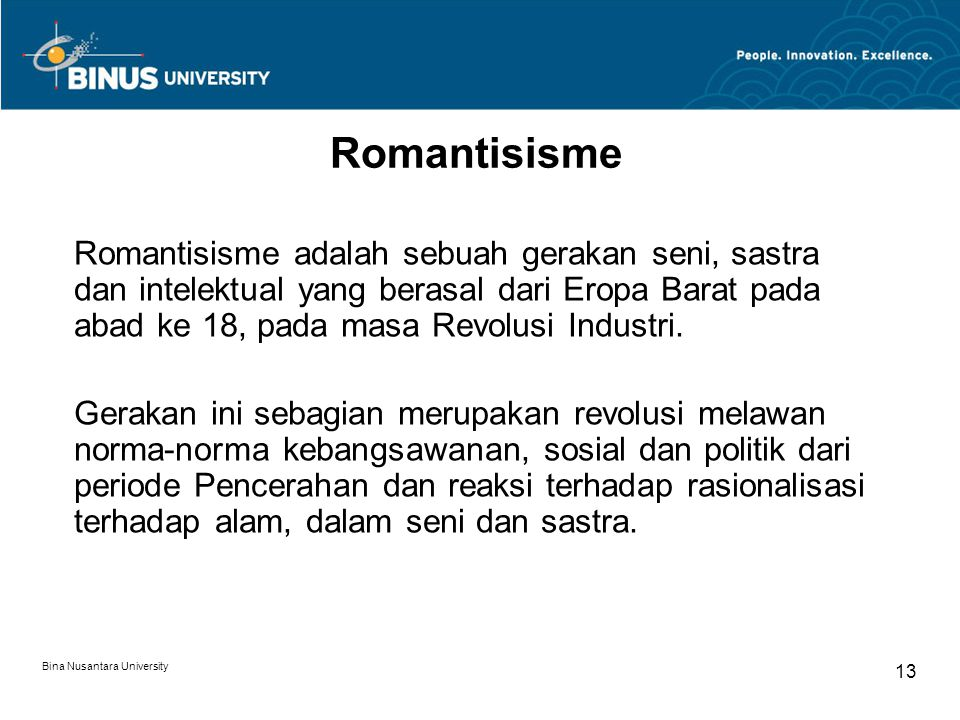 Romantisisme