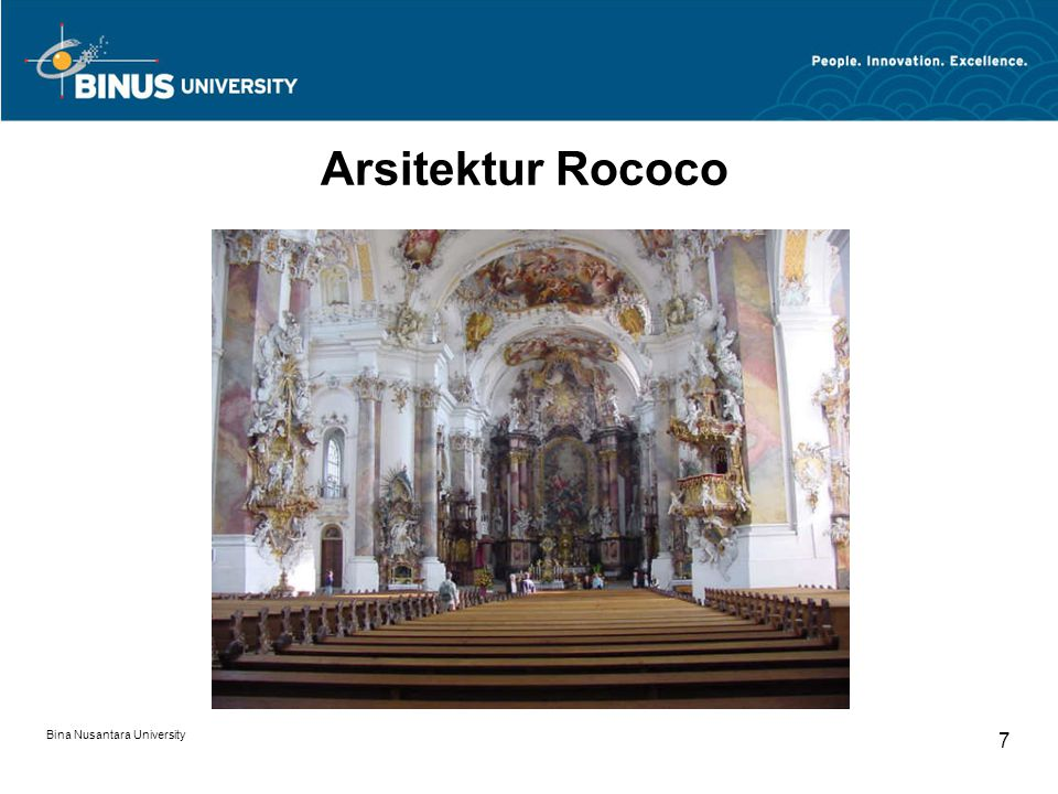 Arsitektur Rococo Bina Nusantara University