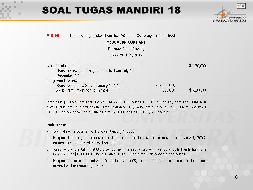 SOAL TUGAS MANDIRI 18