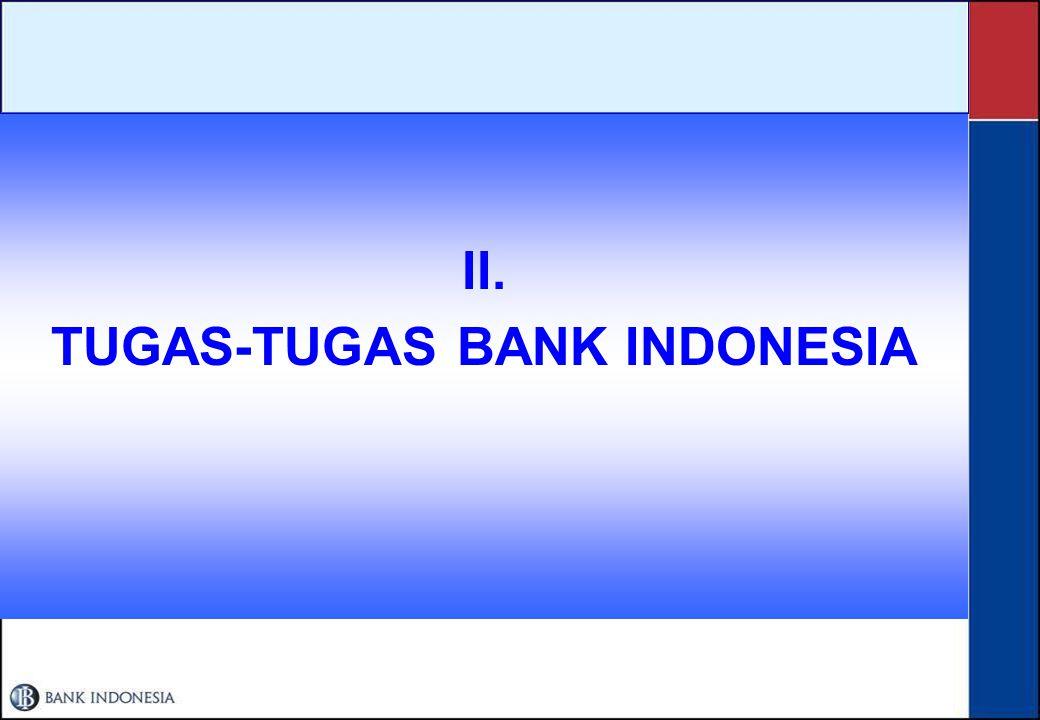 TUGAS-TUGAS BANK INDONESIA