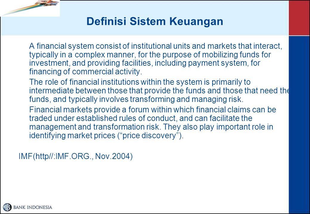 Definisi Sistem Keuangan