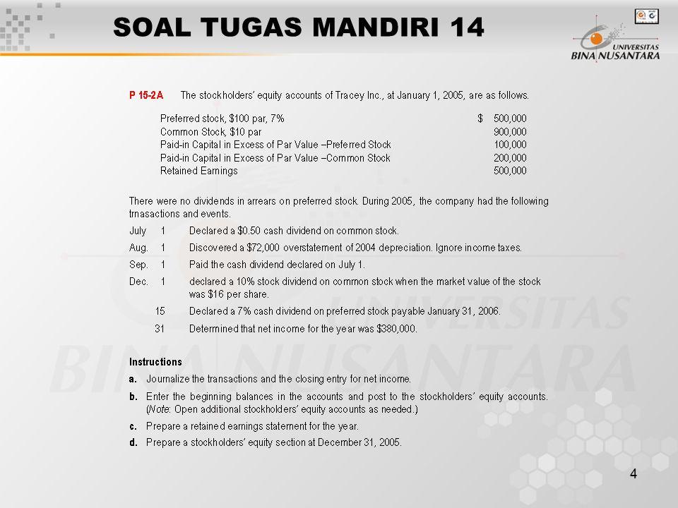 SOAL TUGAS MANDIRI 14