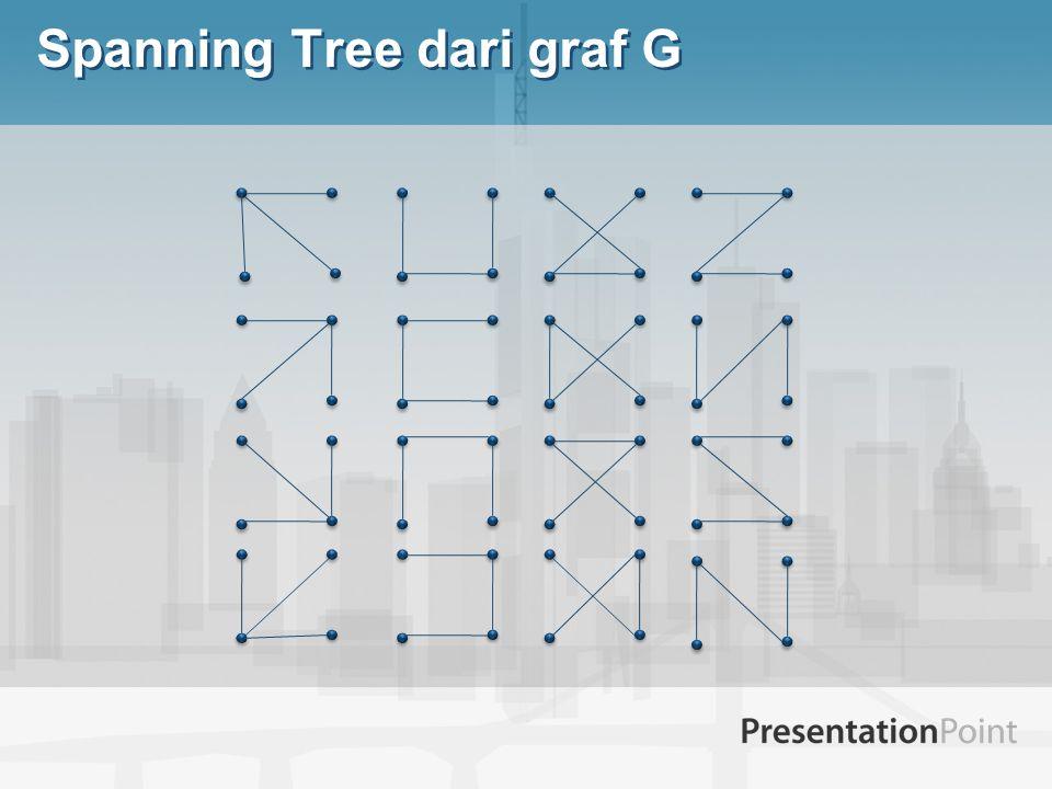 Spanning Tree dari graf G