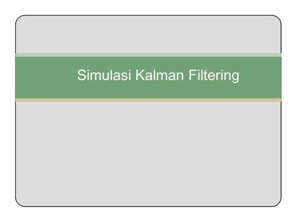 Simulasi Kalman Filtering