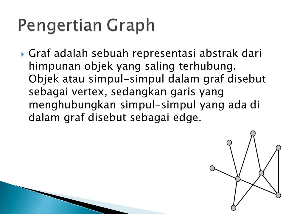 Pengertian Graph