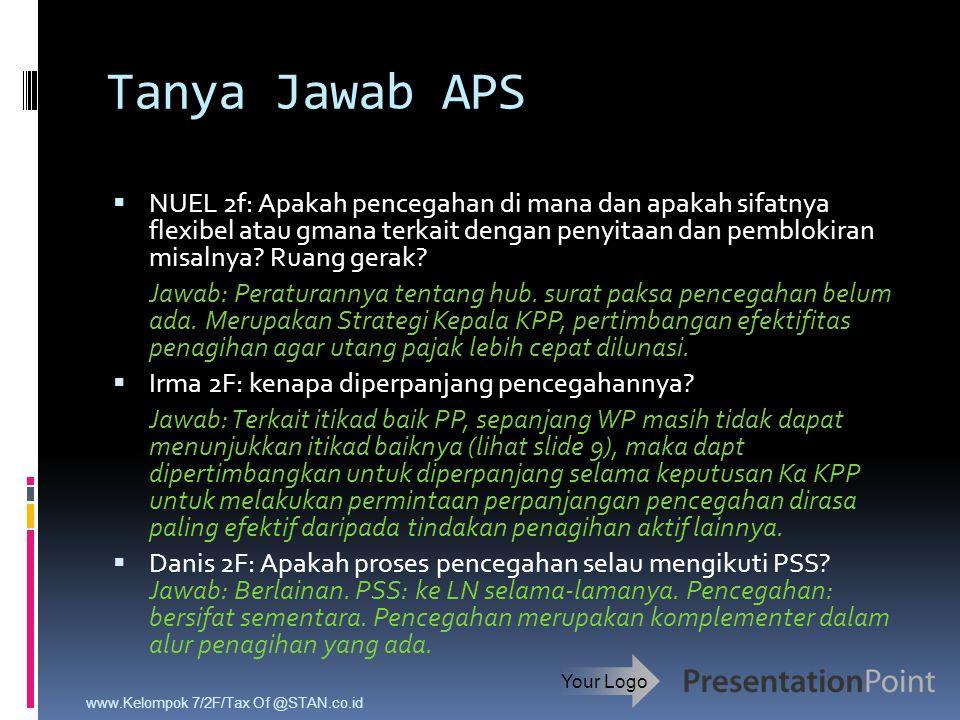 Tanya Jawab APS