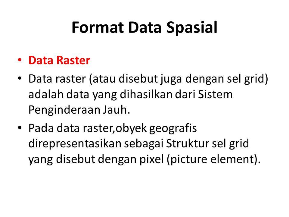 Format Data Spasial Data Raster
