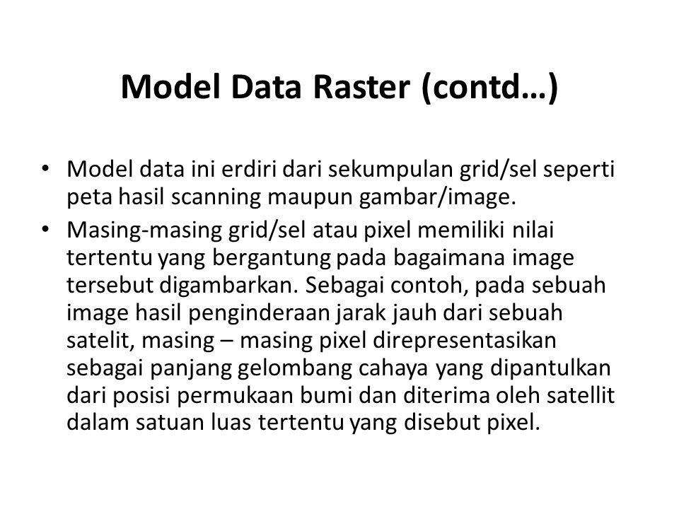 Model Data Raster (contd…)