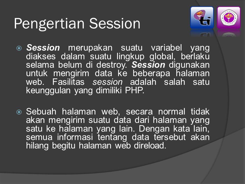 Pengertian Session