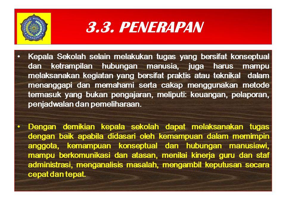 3.3. PENERAPAN