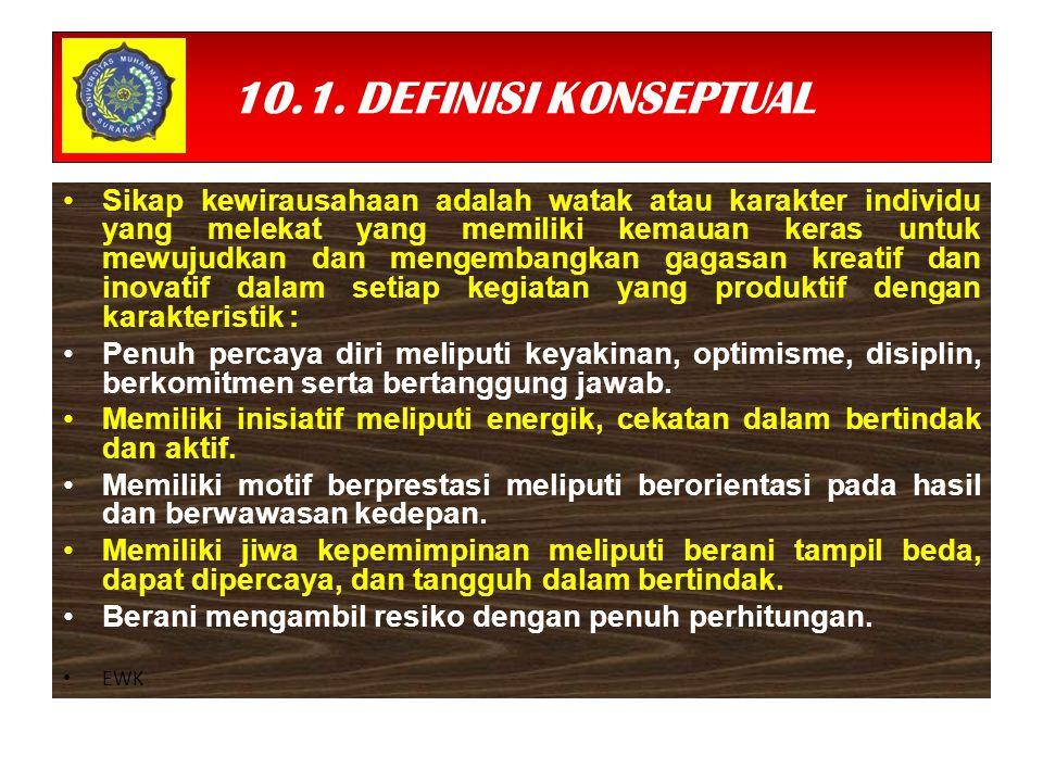 10.1. DEFINISI KONSEPTUAL