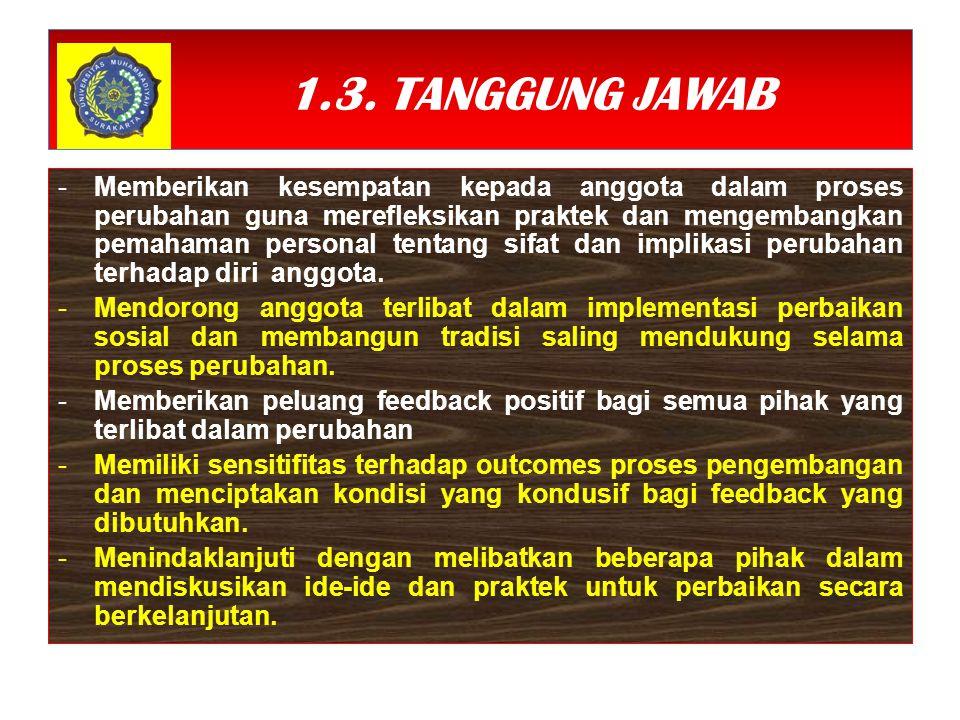 1.3. TANGGUNG JAWAB
