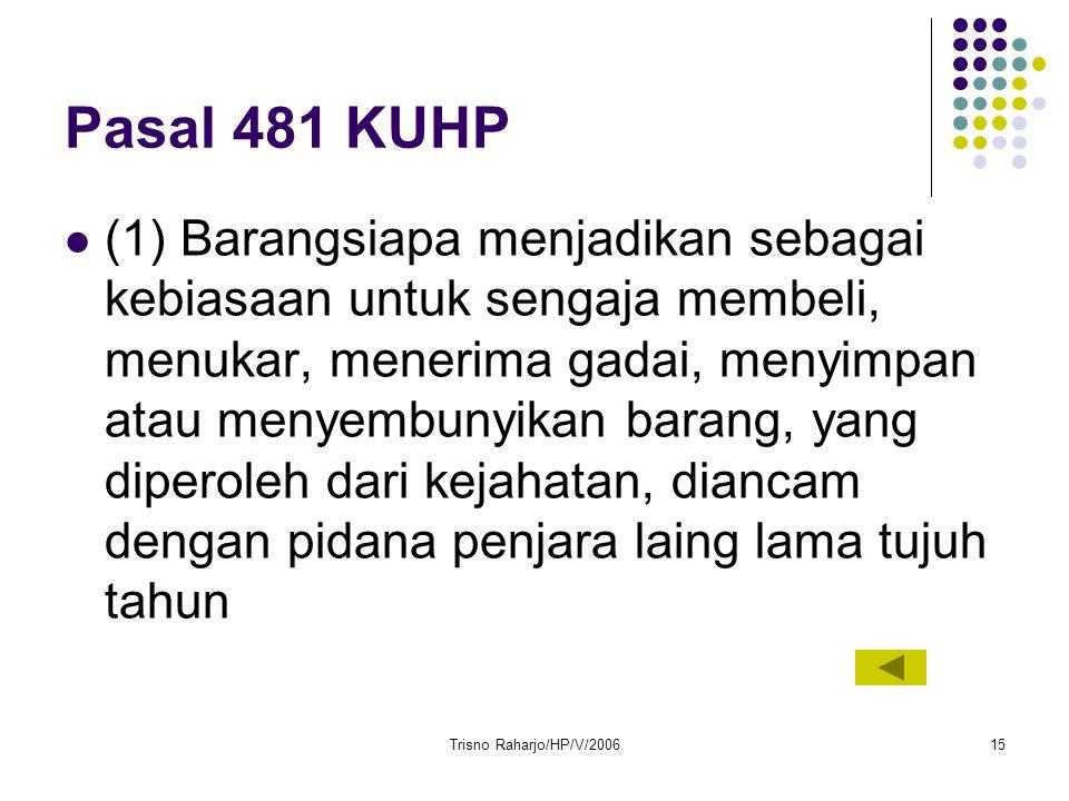 Pasal 481 KUHP