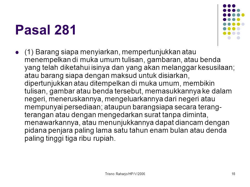Pasal 281
