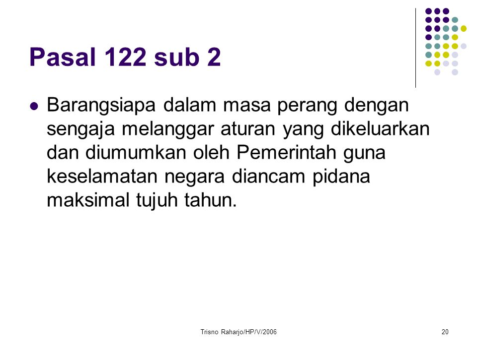 Pasal 122 sub 2