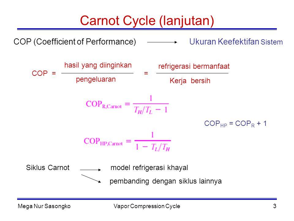 Carnot Cycle (lanjutan)