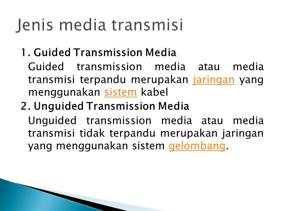 Jenis media transmisi