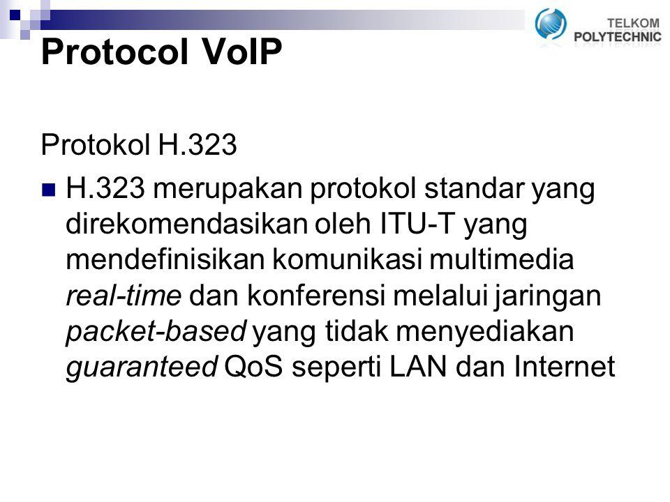Protocol VoIP Protokol H.323