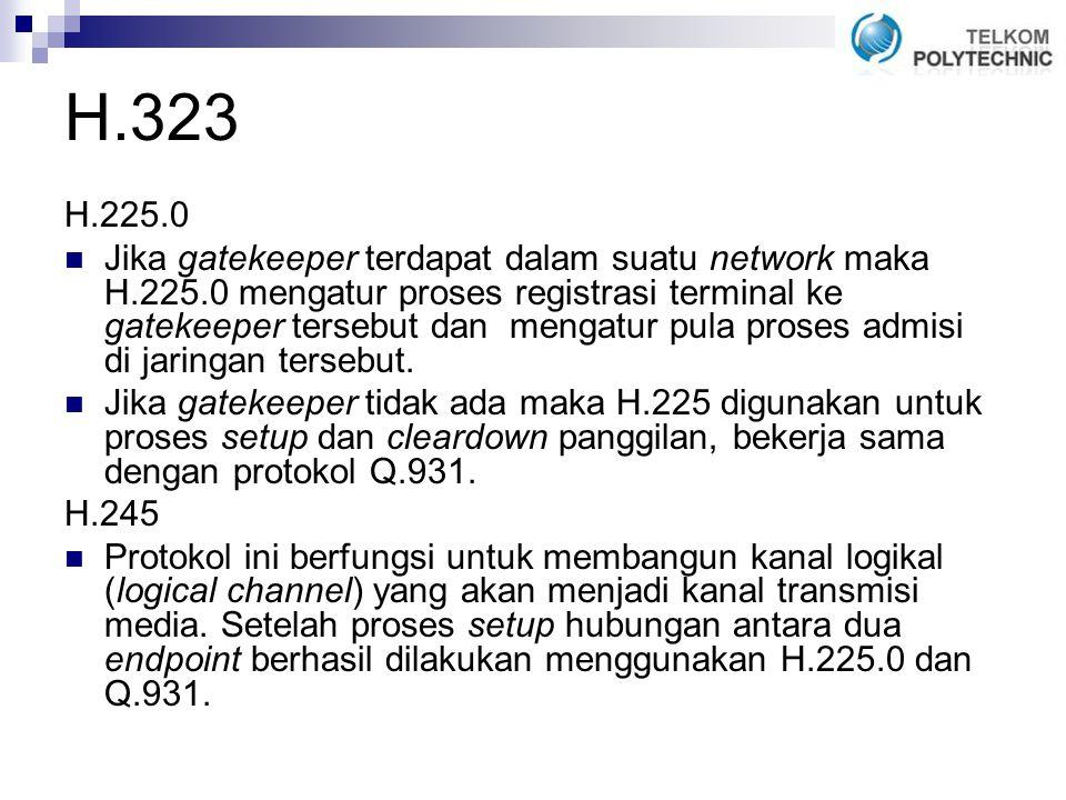 H.323 H.225.0.