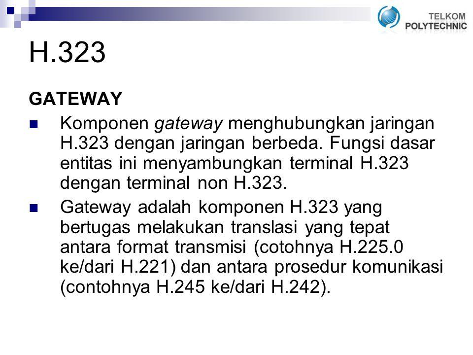 H.323 GATEWAY.