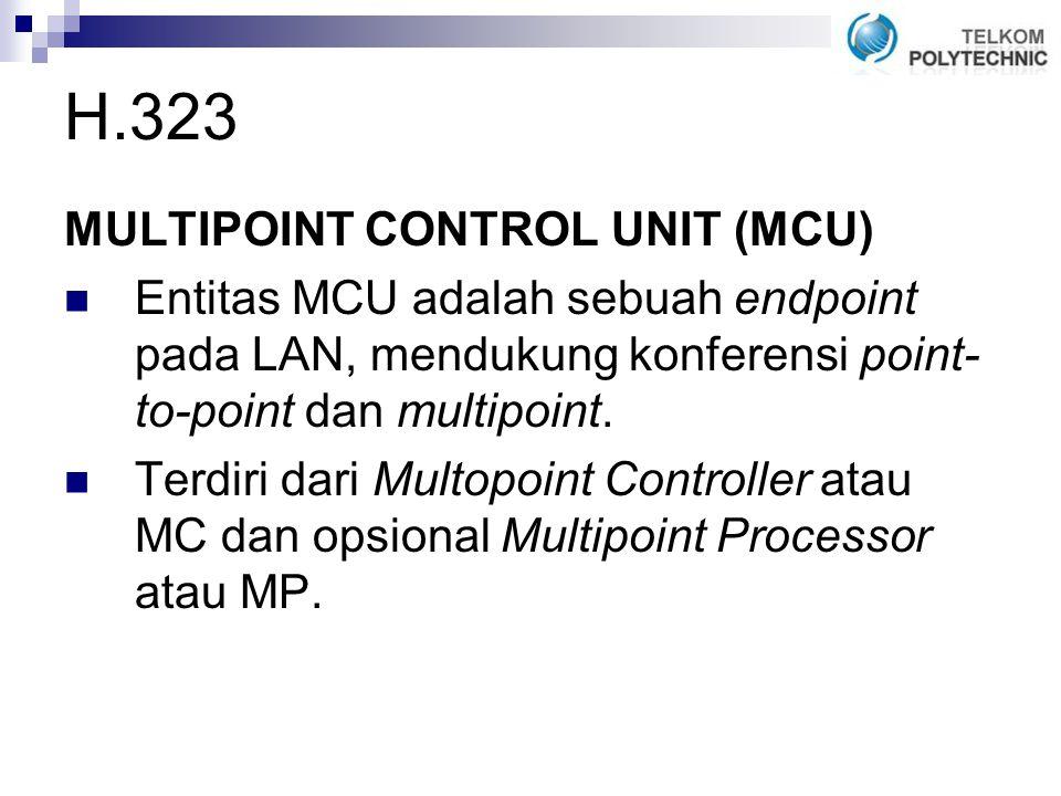 H.323 MULTIPOINT CONTROL UNIT (MCU)