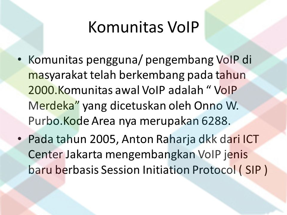 Komunitas VoIP