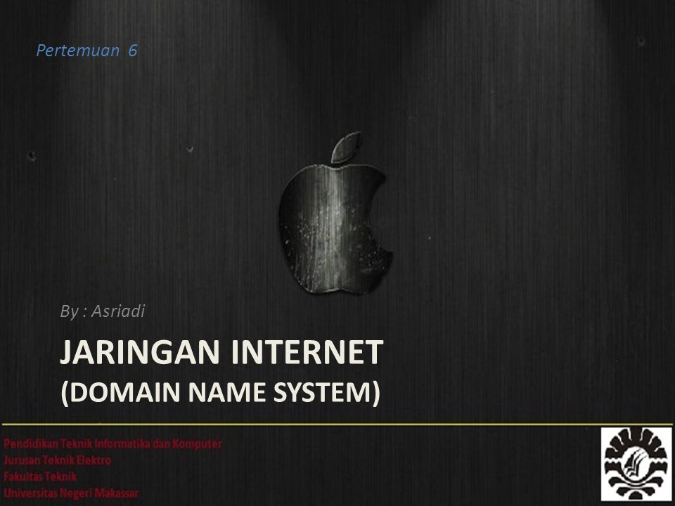 JARINGAN INTERNET (Domain Name System)