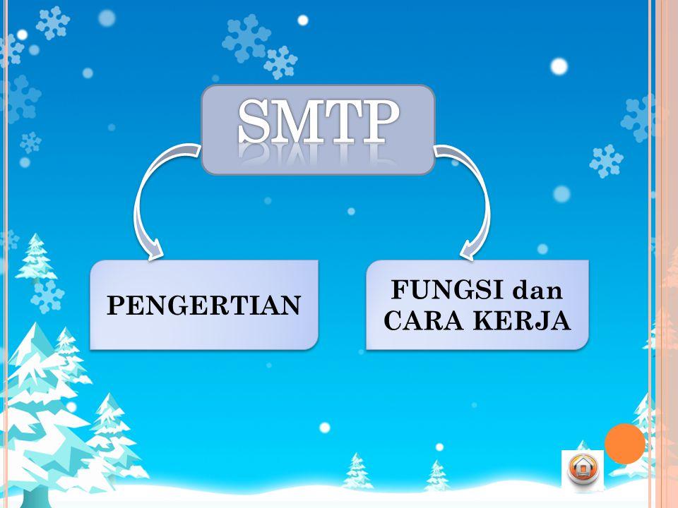 SMTP PENGERTIAN FUNGSI dan CARA KERJA