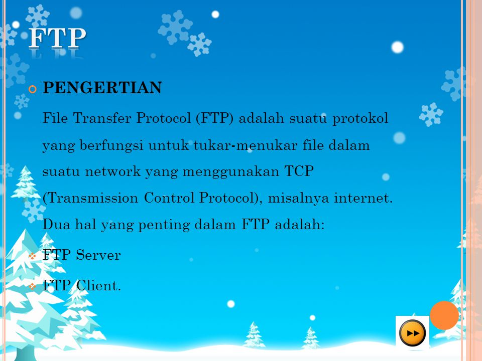 FTP PENGERTIAN.