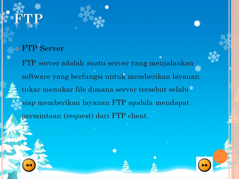 FTP FTP Server.