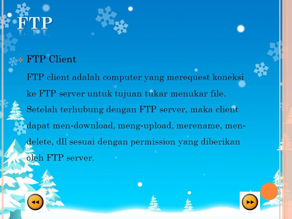 FTP FTP Client.