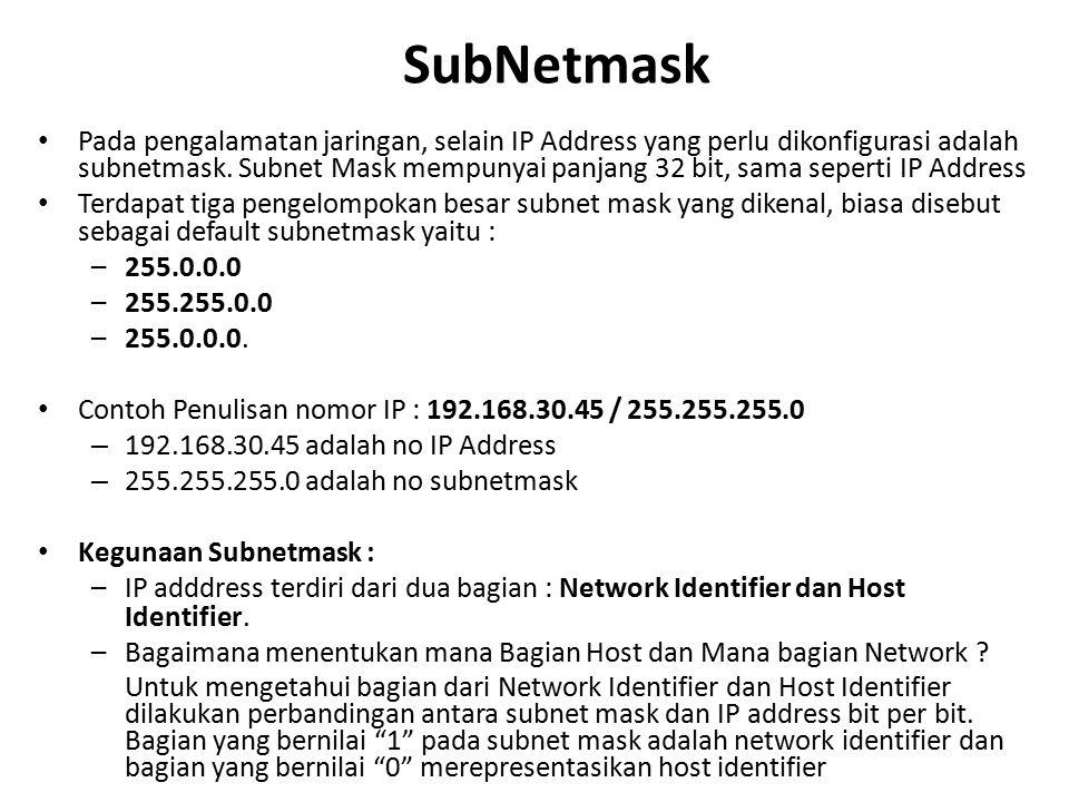 SubNetmask