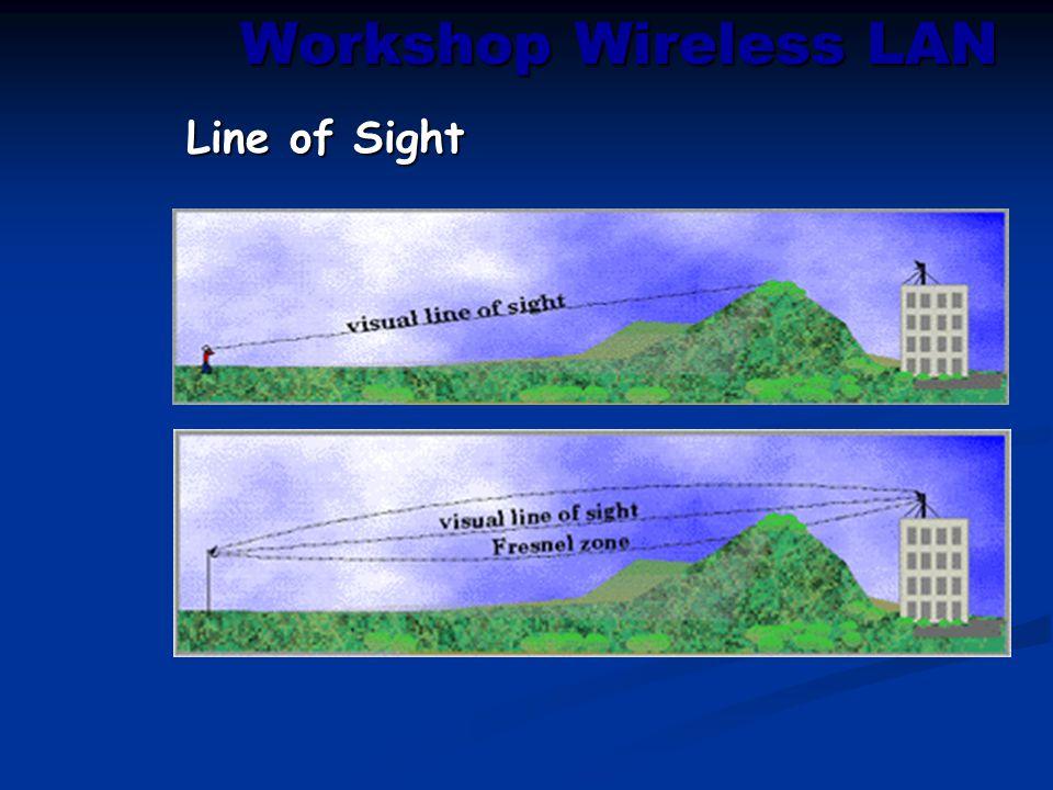 Workshop Wireless LAN Line of Sight