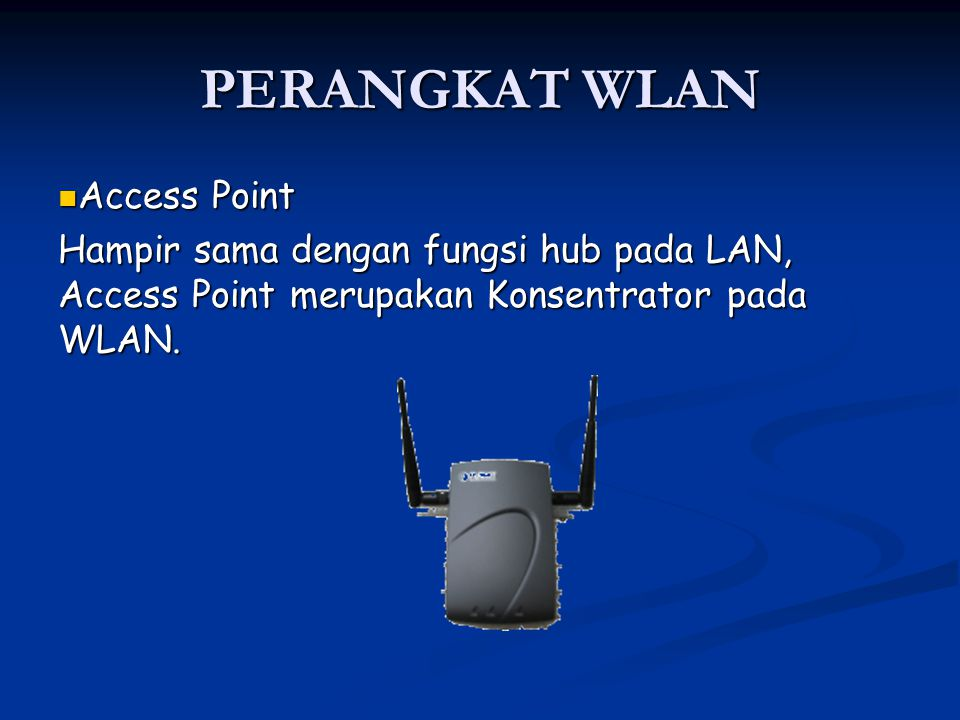 PERANGKAT WLAN Access Point