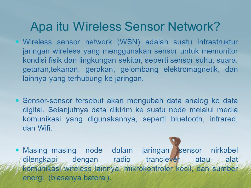 Apa itu Wireless Sensor Network