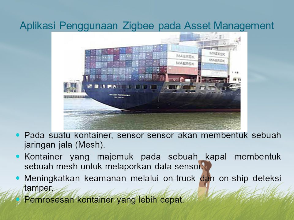 Aplikasi Penggunaan Zigbee pada Asset Management