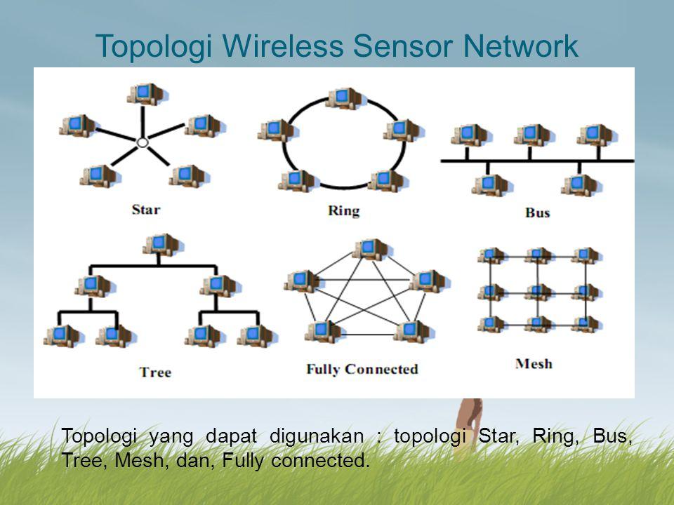Topologi Wireless Sensor Network