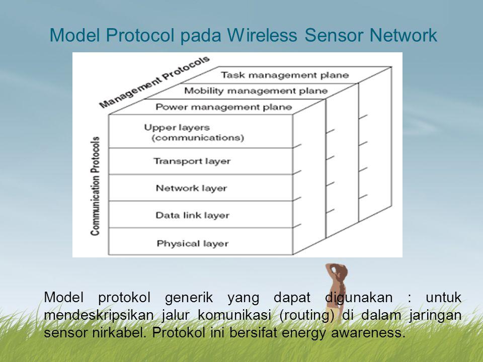 Model Protocol pada Wireless Sensor Network