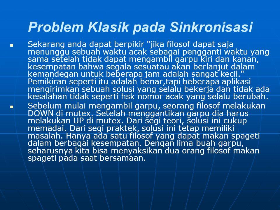 Problem Klasik pada Sinkronisasi