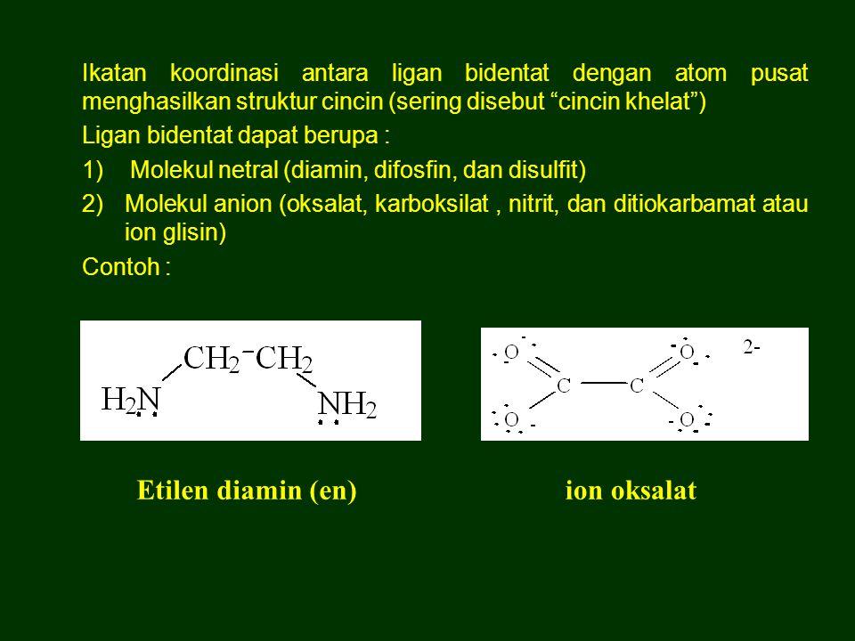 Etilen diamin (en) ion oksalat