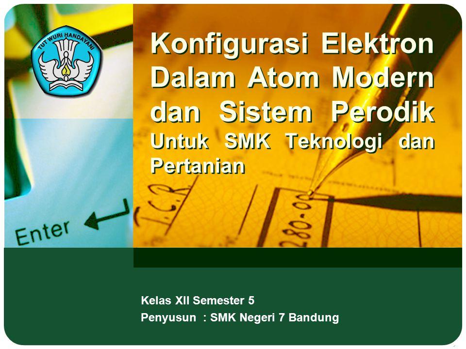 Kelas XII Semester 5 Penyusun : SMK Negeri 7 Bandung