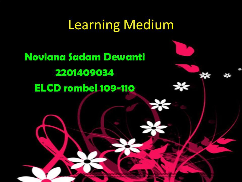 Noviana Sadam Dewanti 2201409034 ELCD rombel 109-110