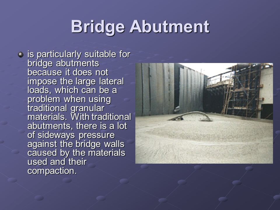 Bridge Abutment